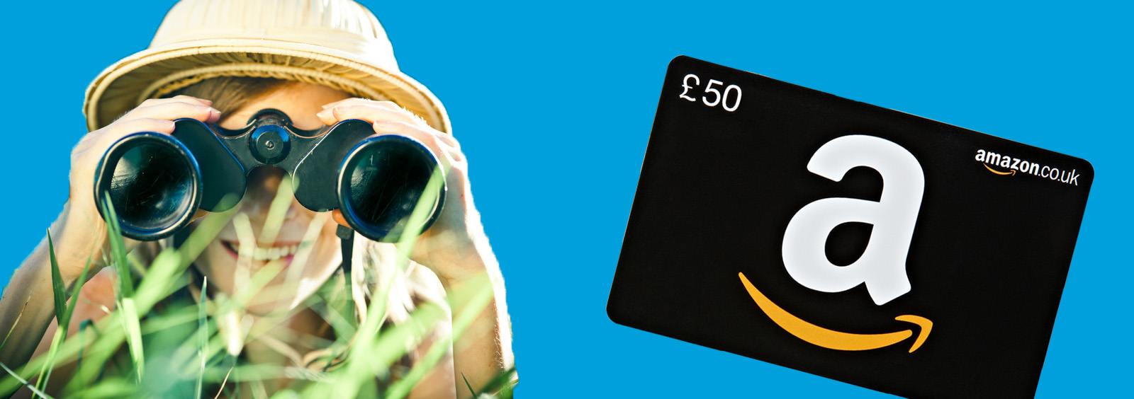 Be awarded an Amazon voucher on a successful lead sent to us