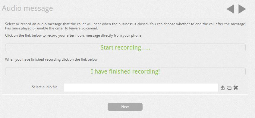 How to Manage Company Closures From the VOISpeed UI